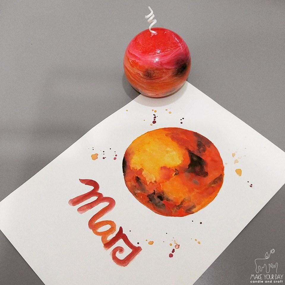 火星香薰蠟燭親子工作坊 - K11 Art Infinity - K11