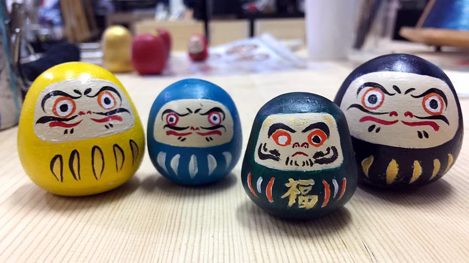 Daruma Painting Family Workshop - K11 Art Infinity - K11