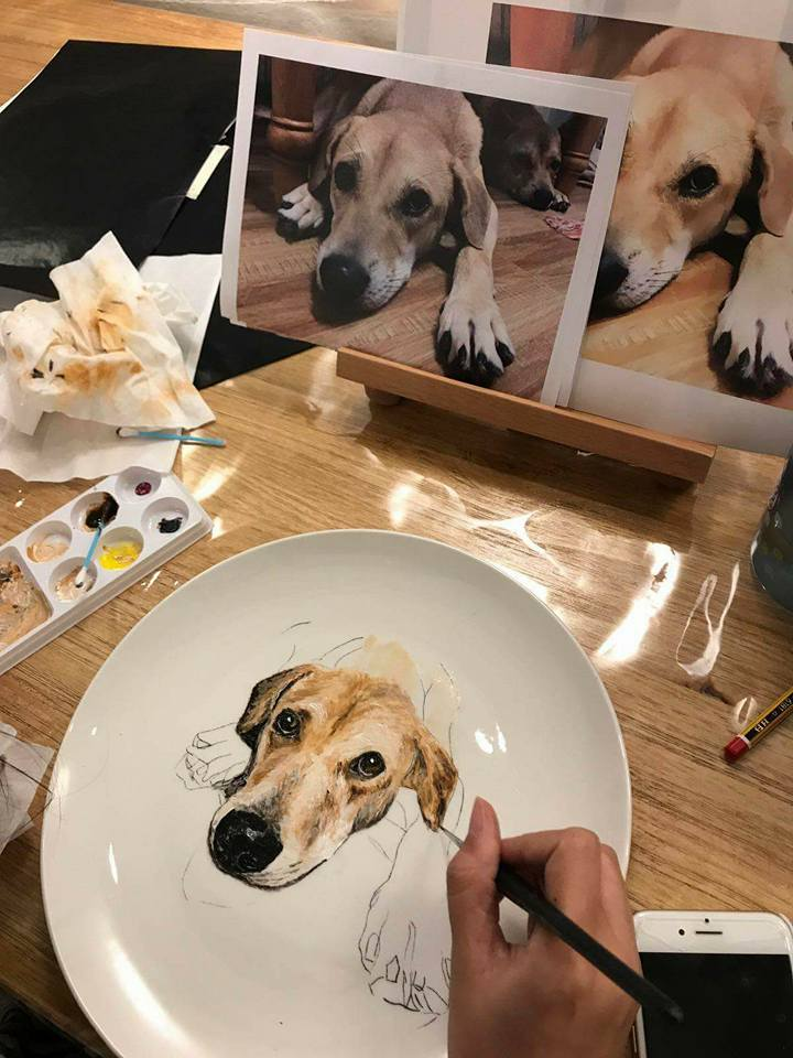 Afternoon Tea X Animal Plate Painting Workshop - K11 Art Infinity - K11