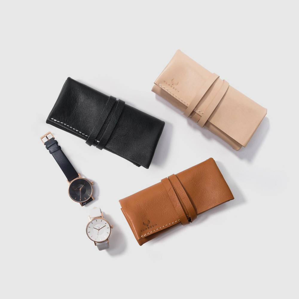 Handcrafted Leather Pouch Workshop - DESIGN - K11