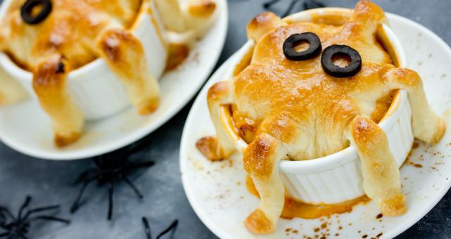 Halloween Spider Chicken Pie Workshop - ART FOOD - K11