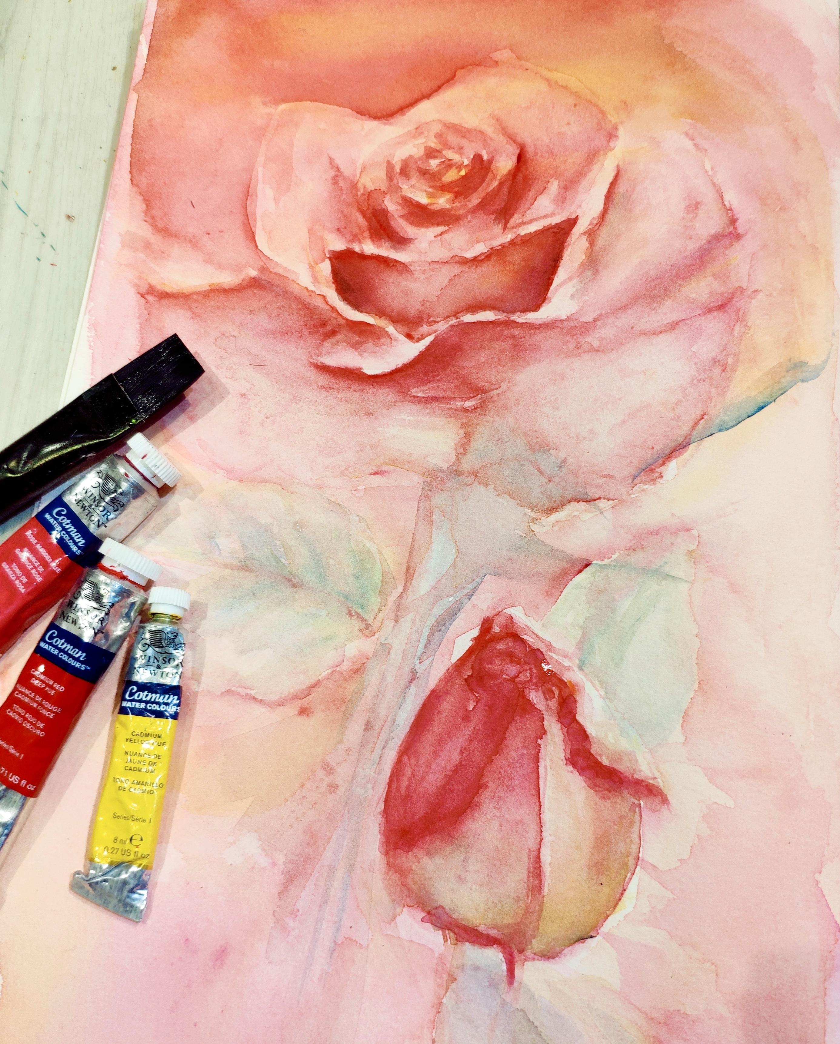 Afternoon Tea x Watercolor Flowers Workshop - K11 Art Infinity - K11