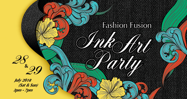 Fashion Fusion - Ink Art Party - DESIGN - K11