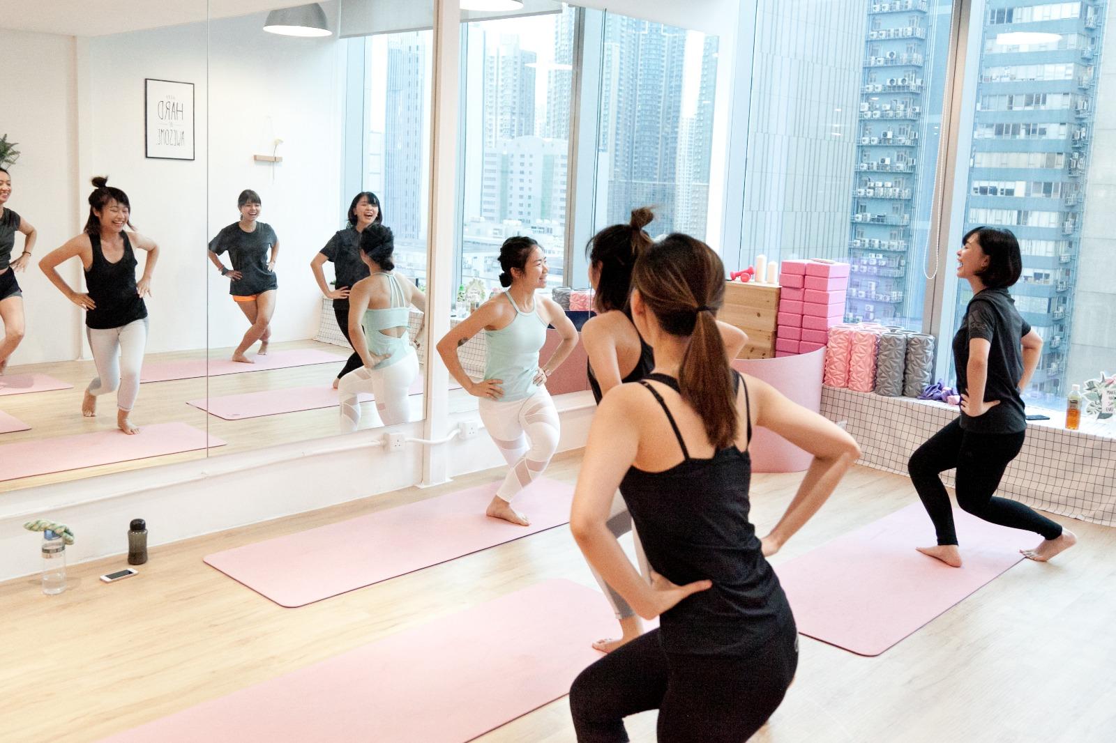 K11 × HeyGirls :  POP Pilates & Face Yoga Workshop - WELLNESS - K11
