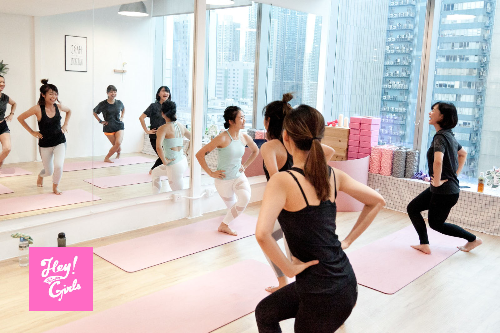 K11 × HeyGirls :  POP Pilates & Face Yoga Workshop - WELLNESS - K11