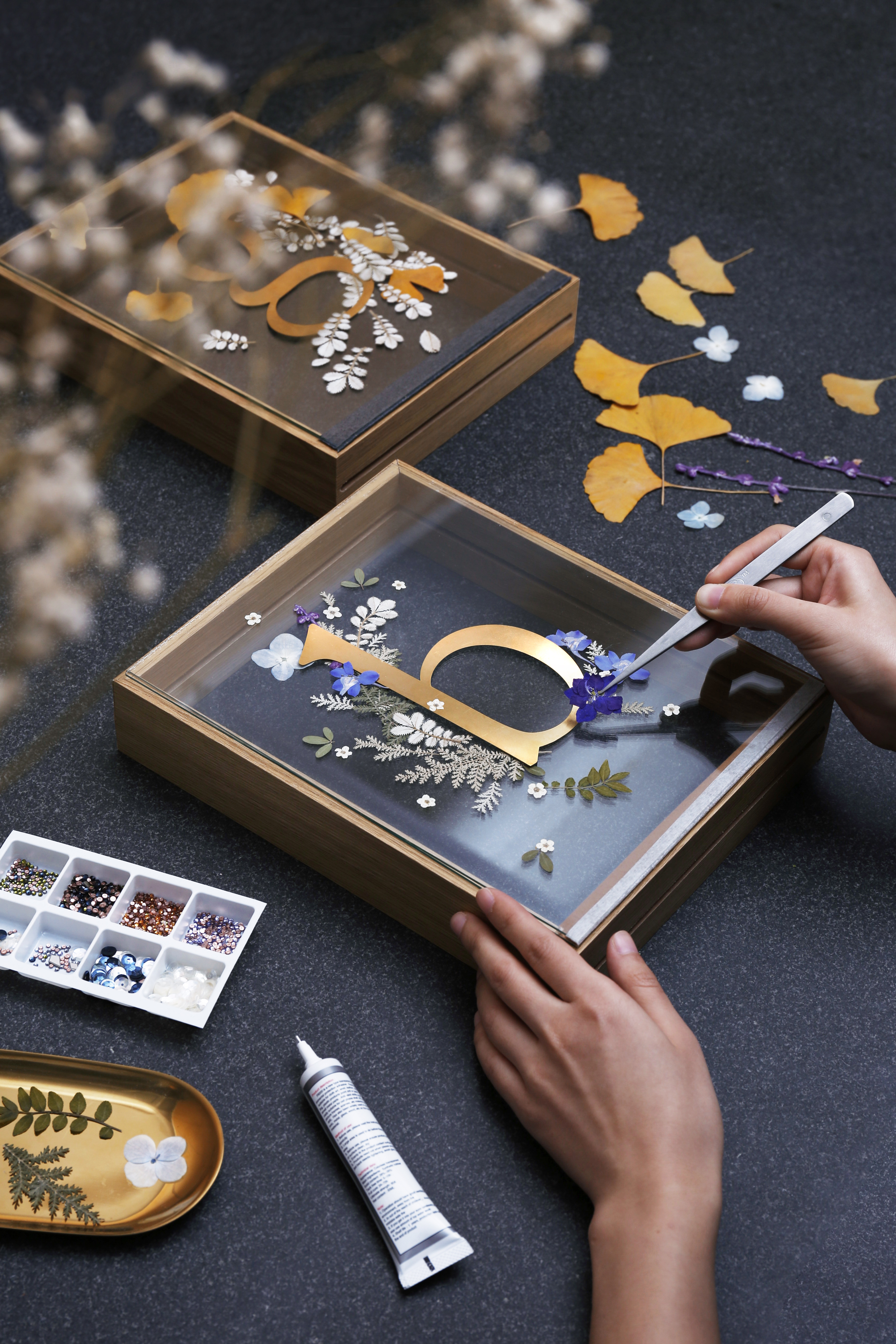Seize the Moment! Pressed Flower Frame Workshop - DESIGN - K11