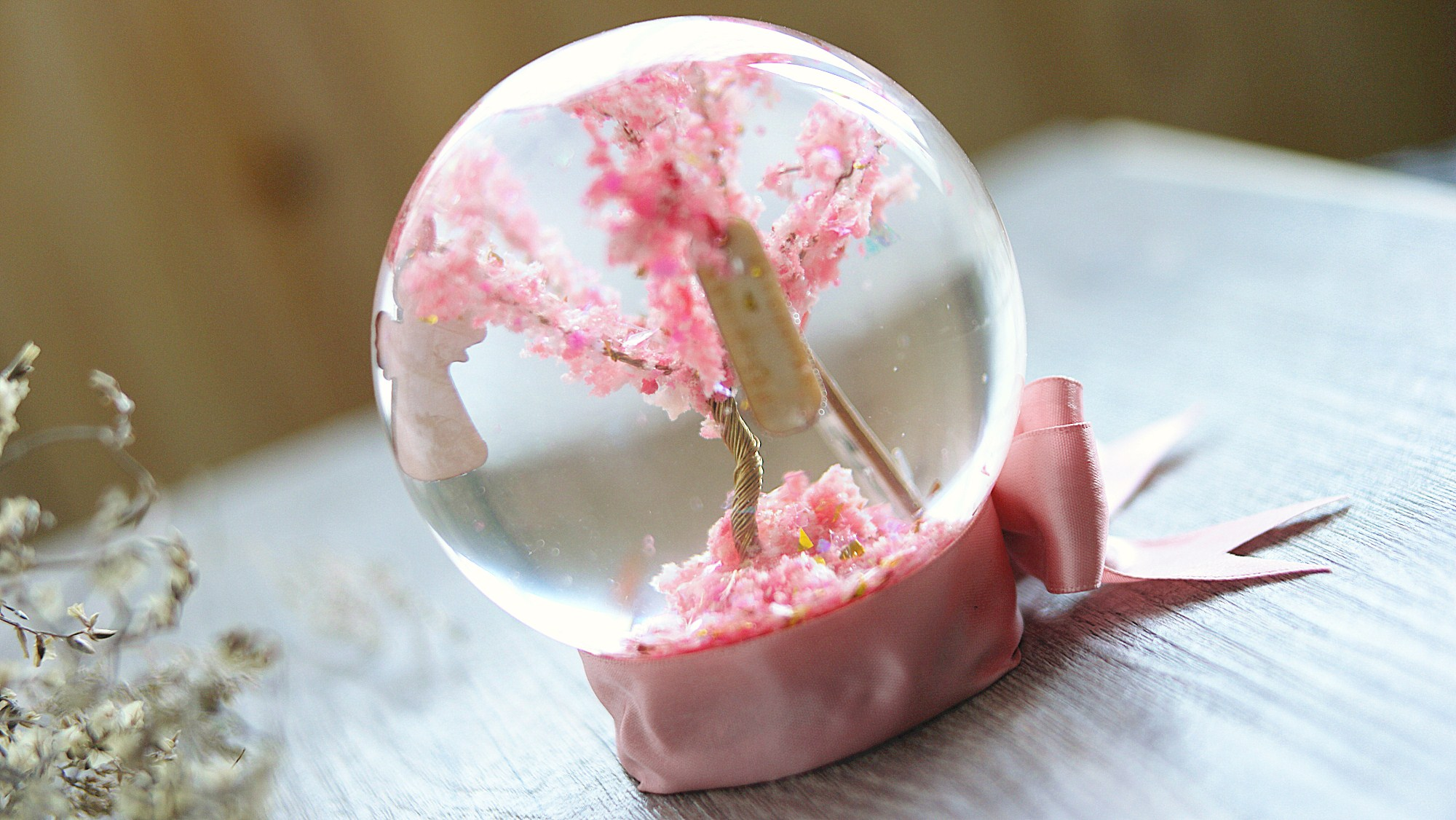 Sakura Wishing Tree Crystal Ball Workshop - K11 Art Infinity - K11