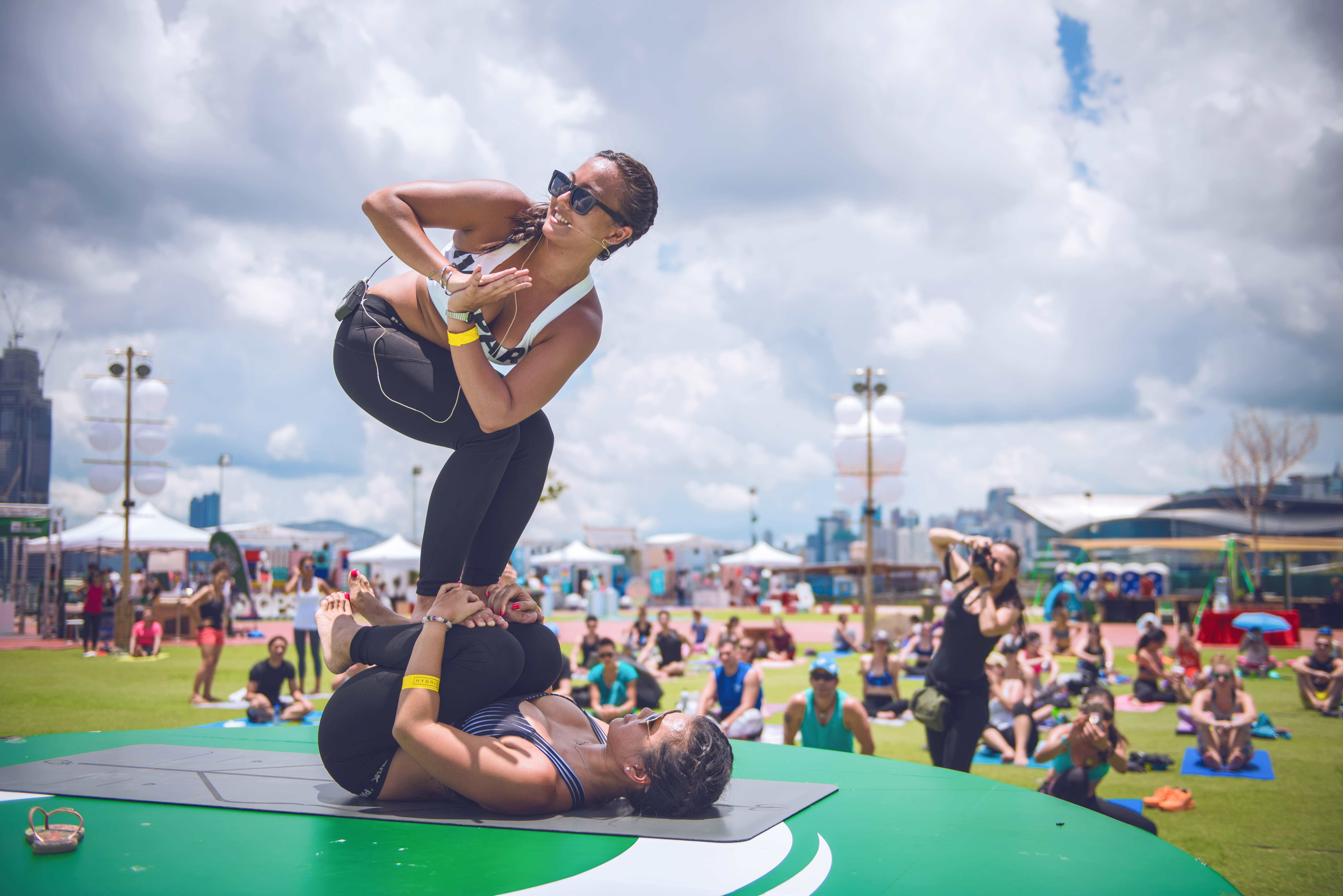 Acro Yoga & K11 Natural Refreshments Tour - WELLNESS - K11
