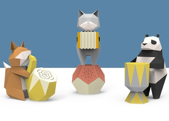 Animal Paper Sculpture X  Bluetooth Speaker Workshop | Adult - K11 Art Infinity - K11