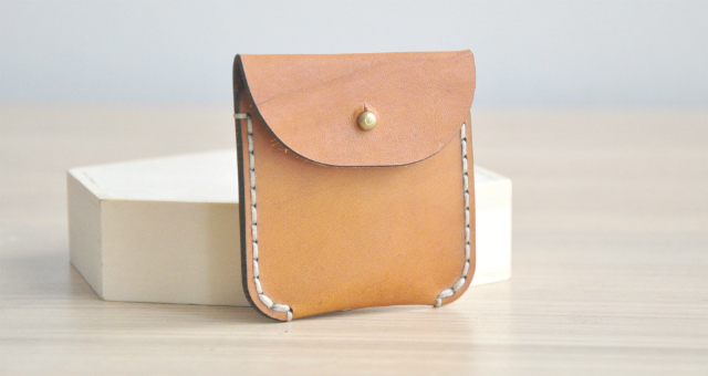 Small Leather Pouch Workshop -  - K11