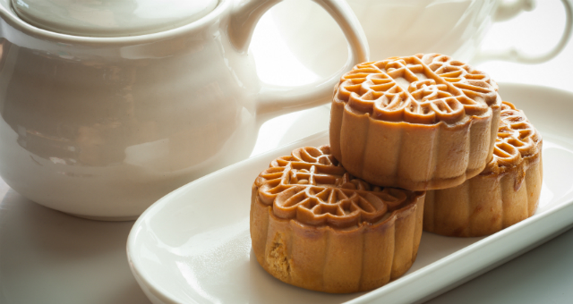 Crispy Custard Mini Mooncake Workshop - ART FOOD - K11
