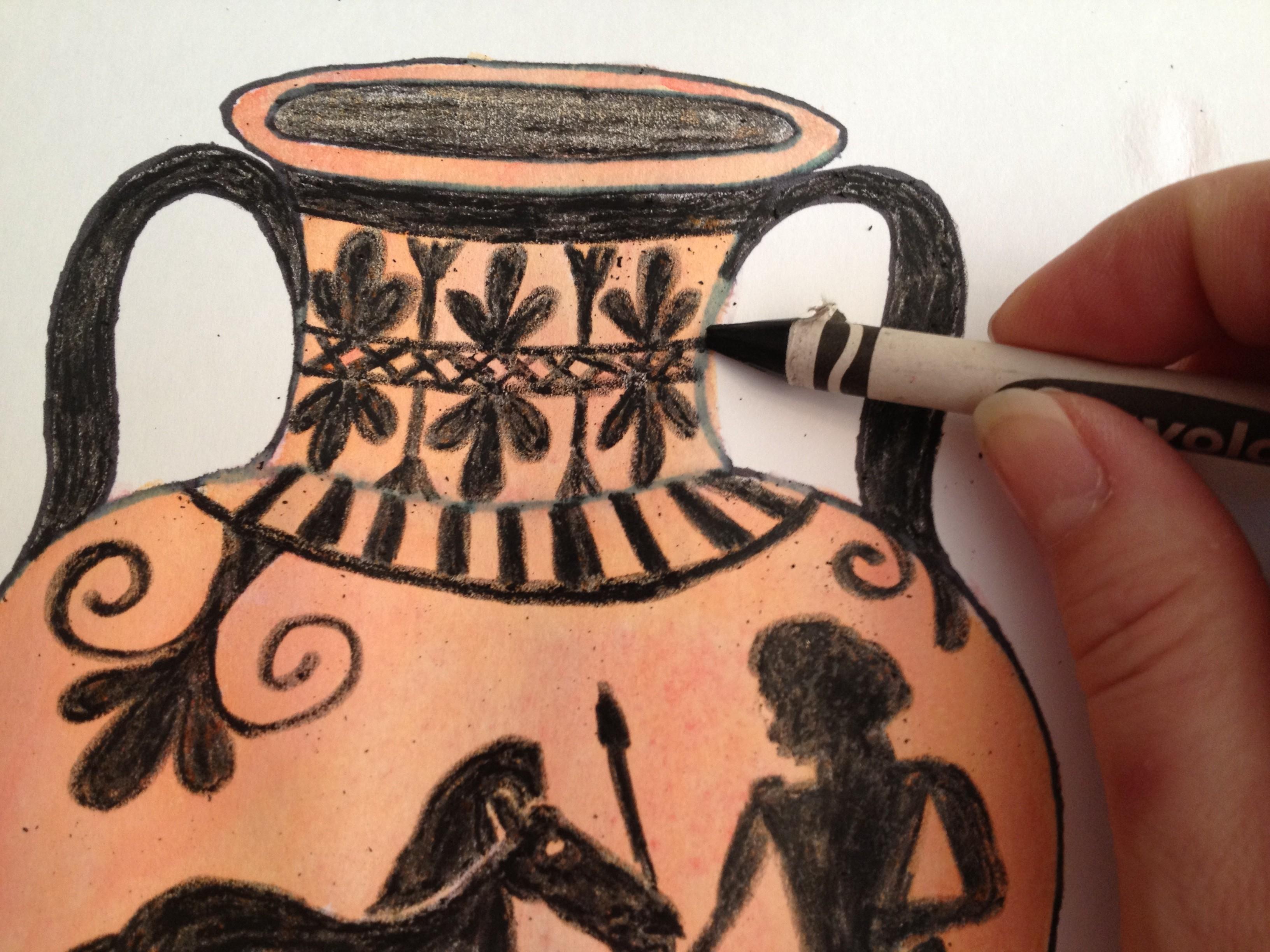 Beige - Greek Vase Workshop - K11 Art Infinity - K11