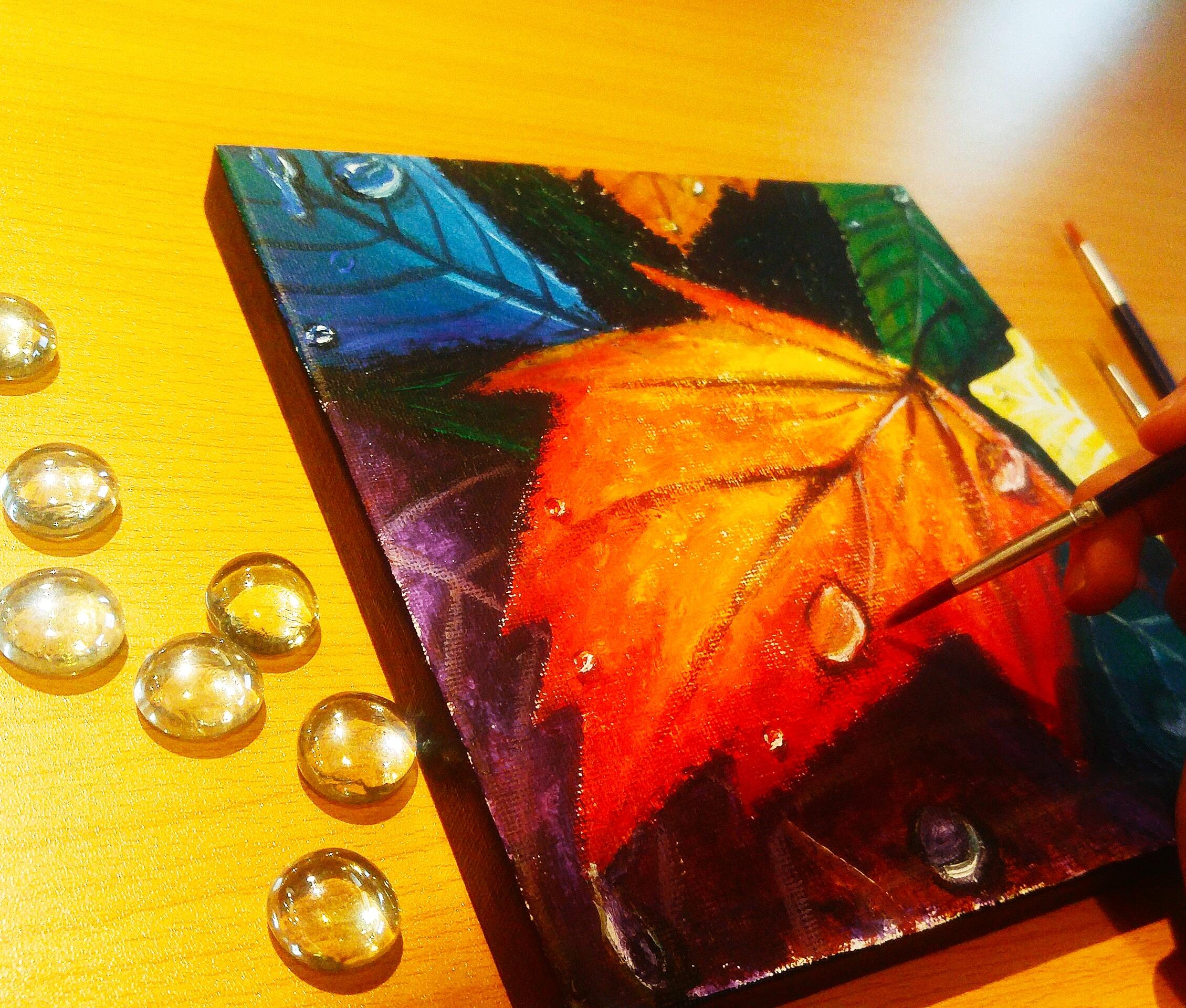 Glass Stone x Painting x Home Decoration Workshop - K11 Art Infinity - K11